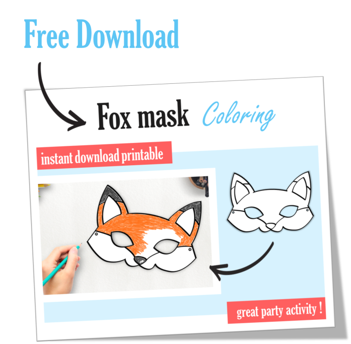 Free Fox Mask Download